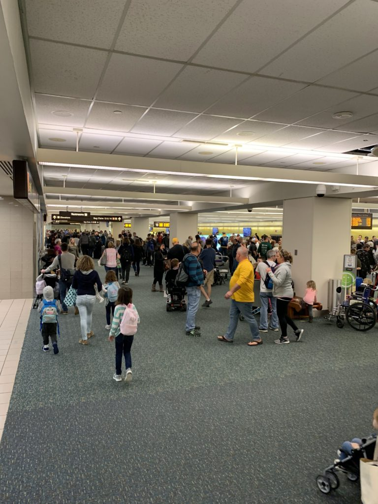 Mass chaos at MCO